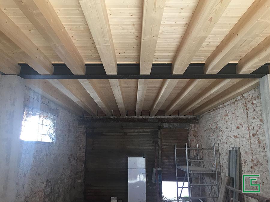 Edificio Abano Terme Ristrutturazione con parziale demolizione e ricostruzione studio tecnico geometra Schiavon