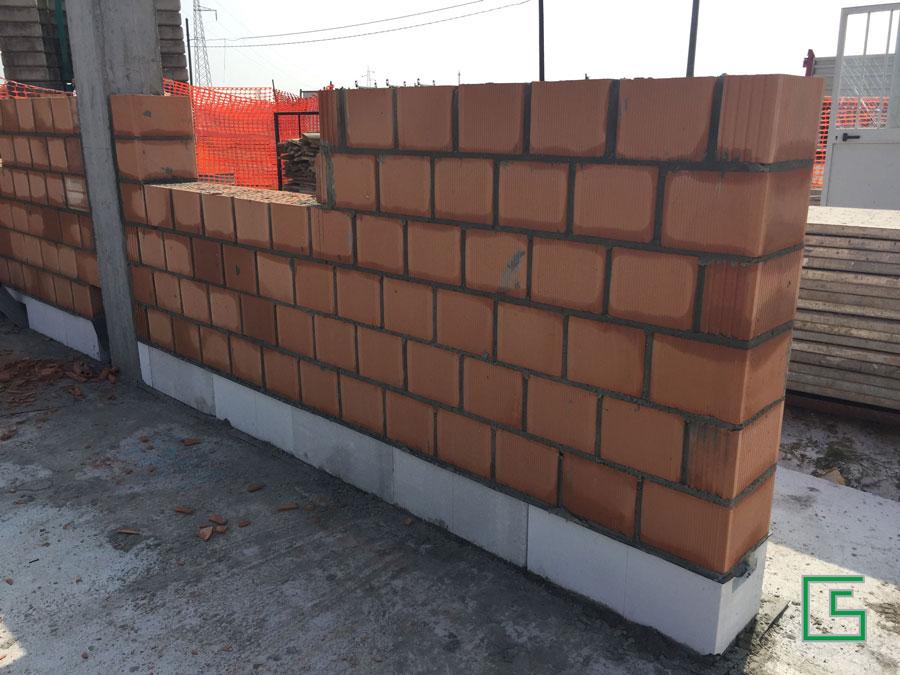 Isolamento muratura Ytong Bifamiliare Candiana Demolizione e nuova costruzione a cura dello studio tecnico geometra Schiavon